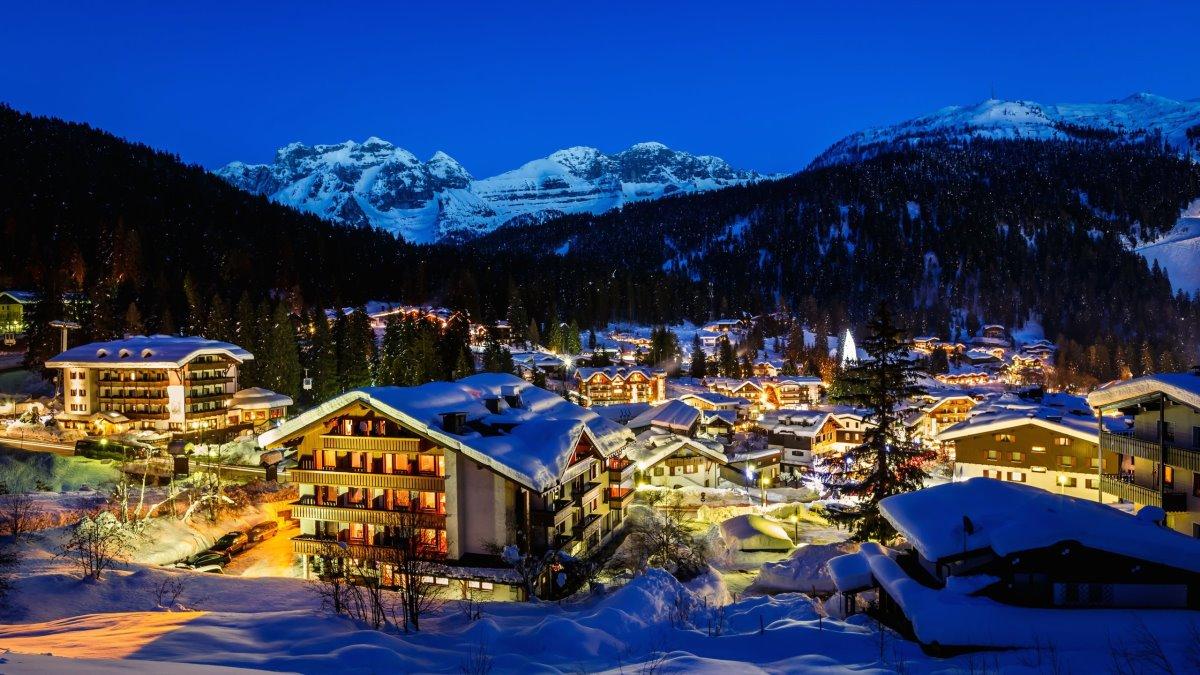 όμορφα ορεινά χωριά ιταλία Madonna di Campiglio
