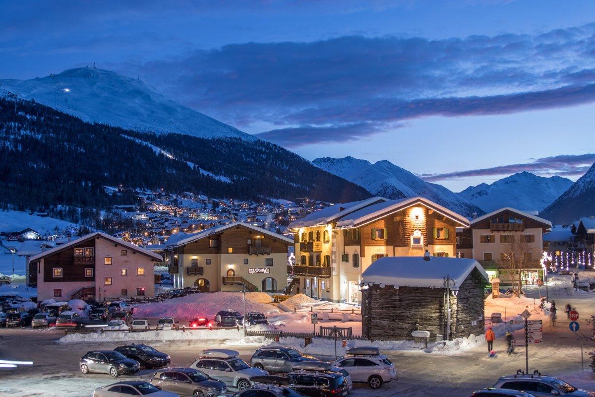 όμορφα ορεινά χωριά Ιταλία Livigno