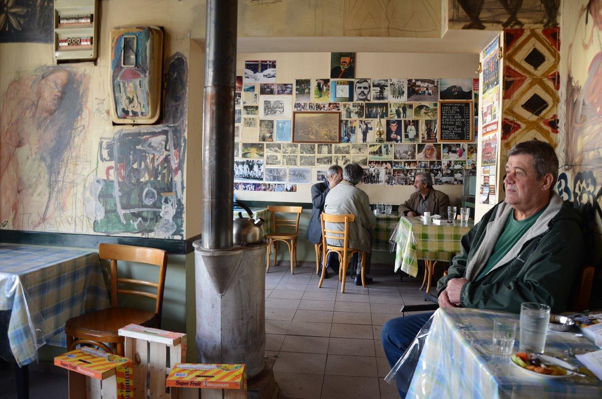 παραδοσιακό καφενείο του Νάσου στη Φλώρινα
