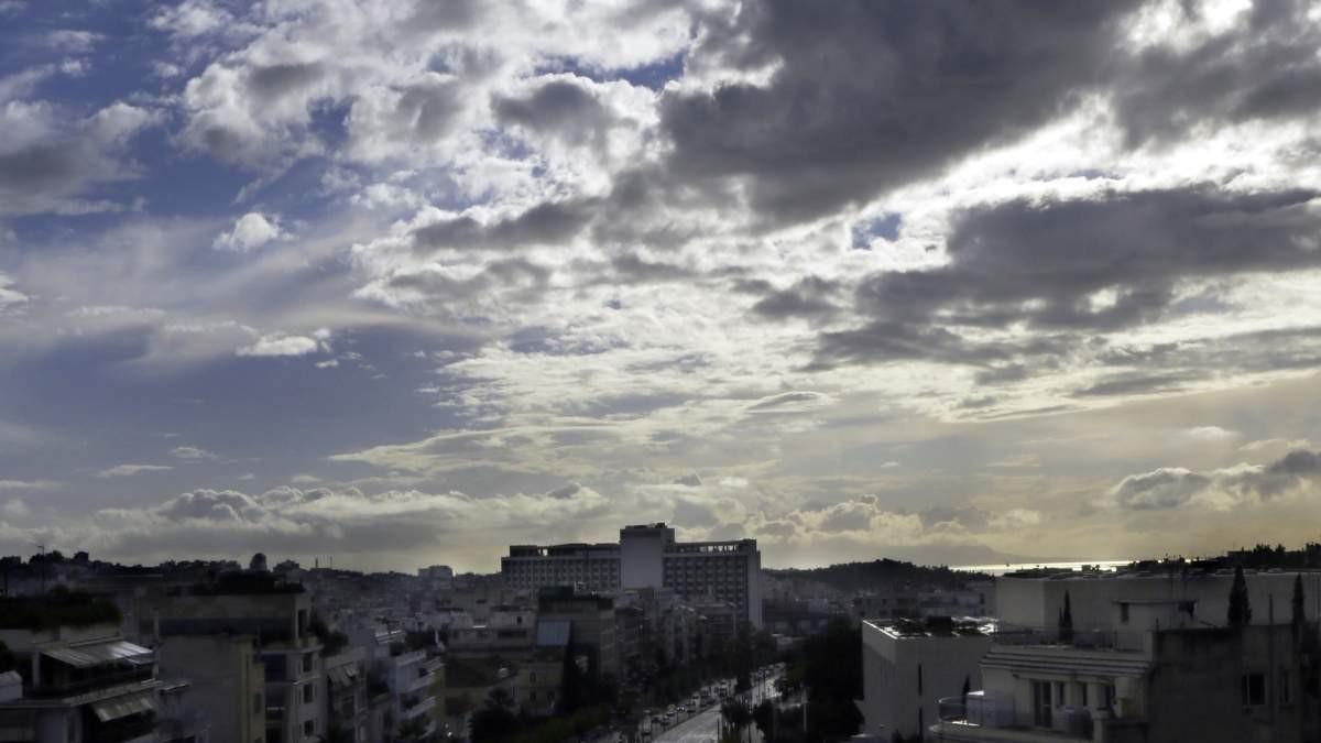 καιρός 27-11 συννεφιά