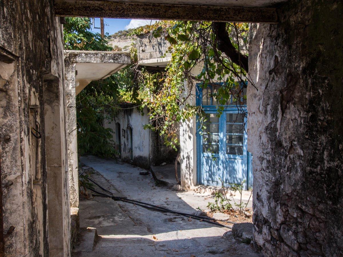 Καλάμι, το εγκαταλελειμμένο  χωριό στην Κρήτη