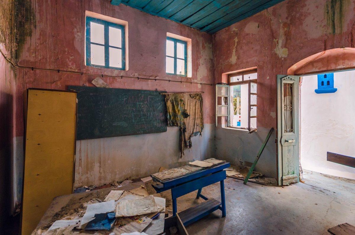 Καλάμι, το εγκαταλελειμμένο σχολείο