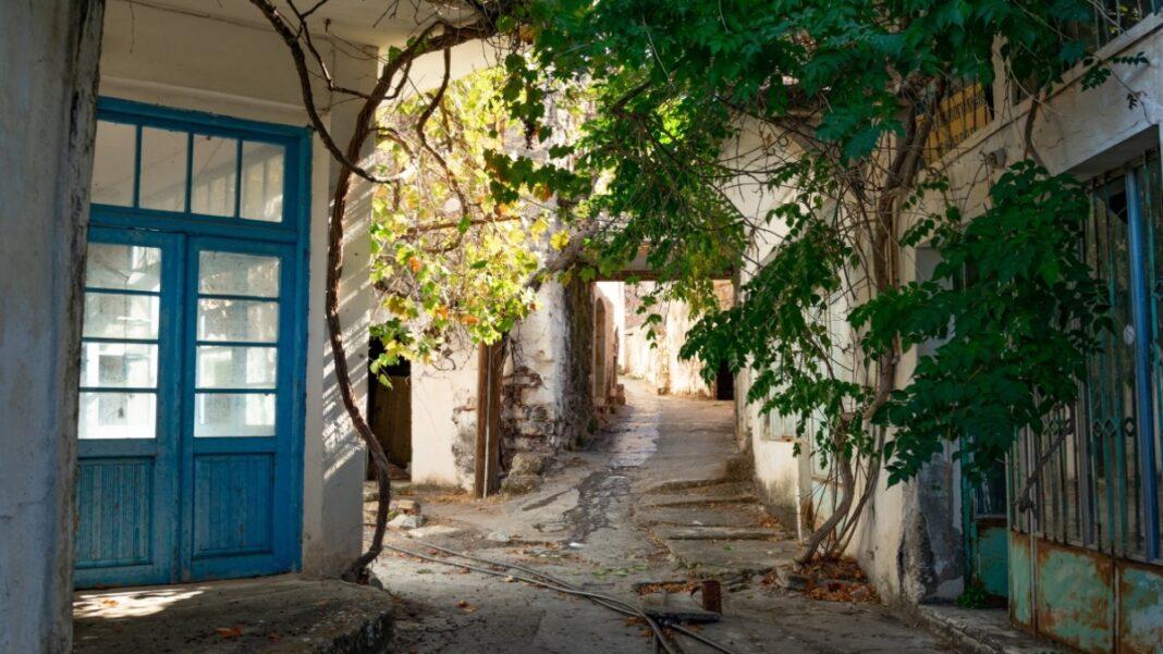 Καλάμι χωριό ερημωμένο Κρήτη