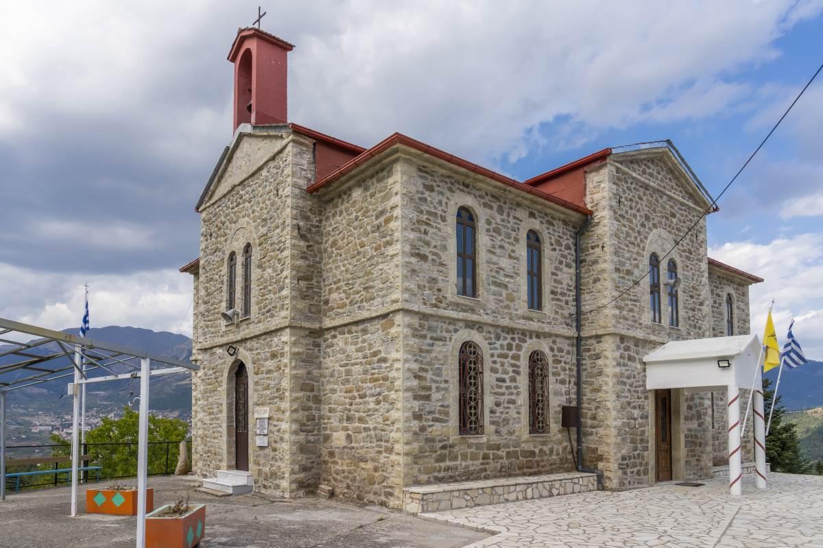 εκκλησία Καλλιθέα Ευρυτανίας