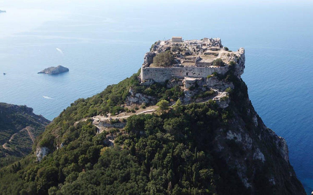 καστροπολιτείες Ελλάδα κάστρο κέρκυρα
