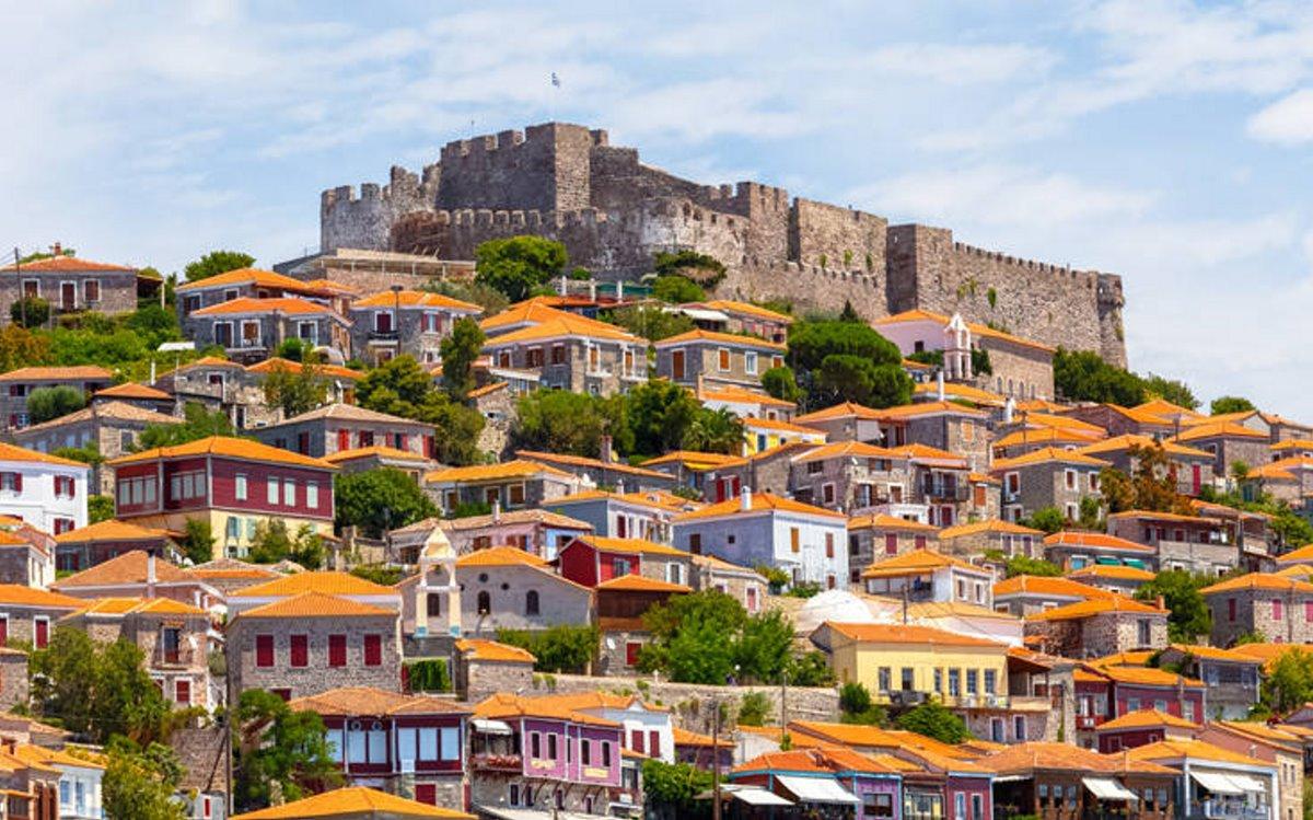 καστροπολιτείες Ελλάδα κάστρο λέσβος