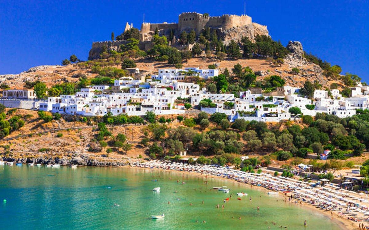 καστροπολιτείες Ελλάδα κάστρο λίνδος ρόδος