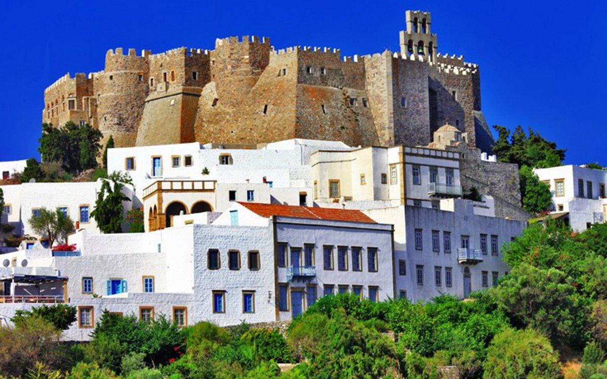 καστροπολιτείες Ελλάδα κάστρο Πάτμος