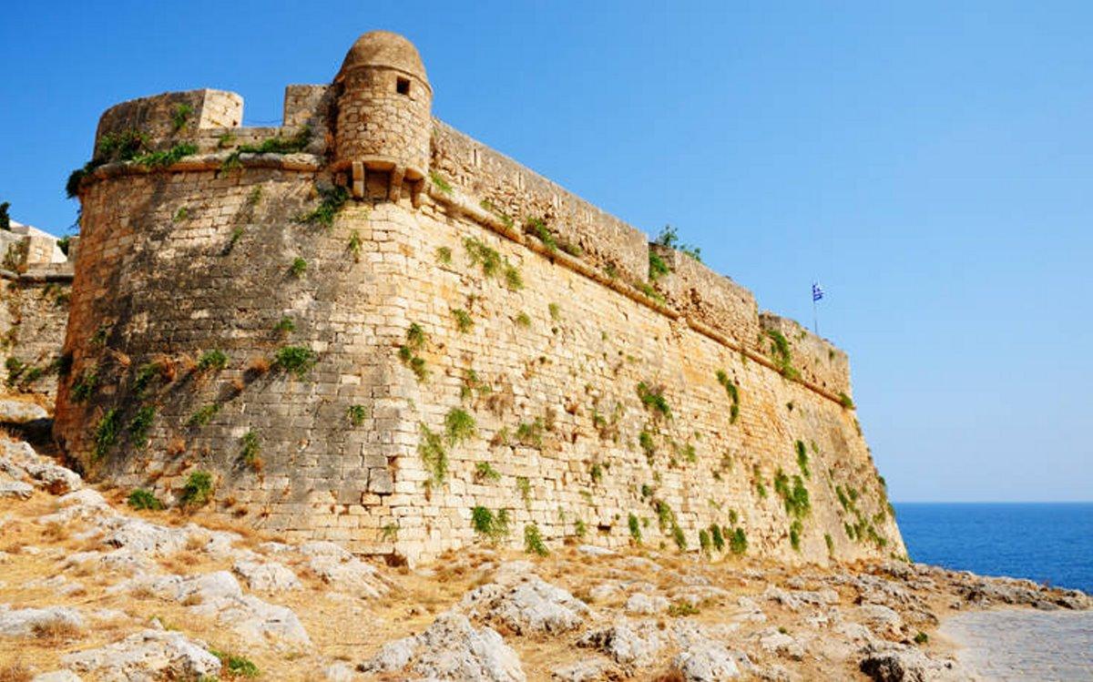 καστροπολιτείες Ελλάδα κάστρο φορτέτσα ρέθυμνο