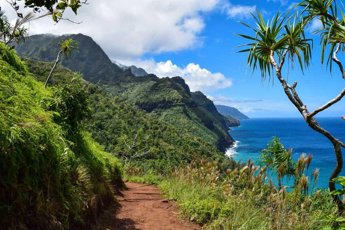 Πεζοπορικές διαδρομές στο  Kauai Χαβάη