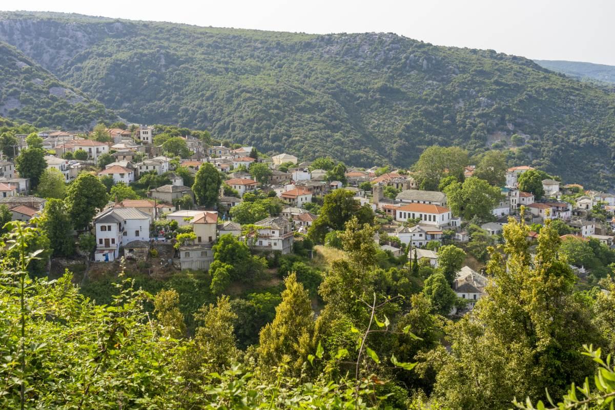 Κεραμίδι, πανοραμική εικόνα του χωριού