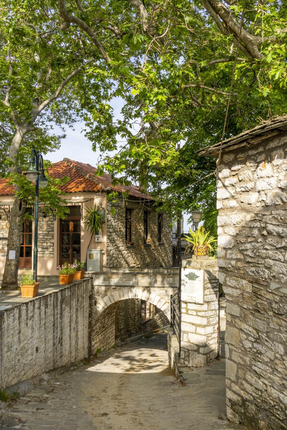 Βόλτα στο χωριό, Κεραμίδι Πήλιο