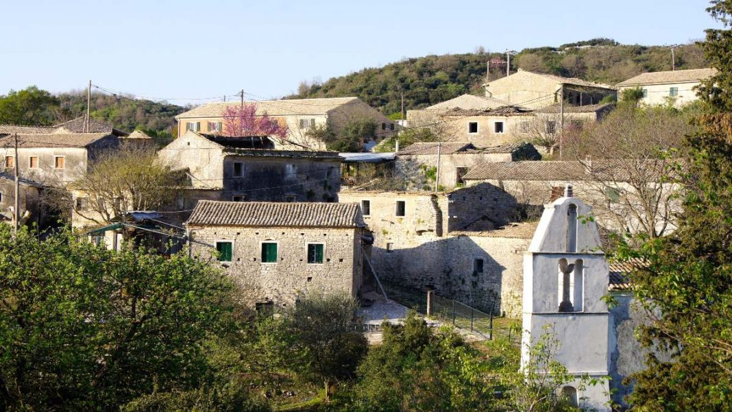 Κέρκυρα ορεινά χωριά