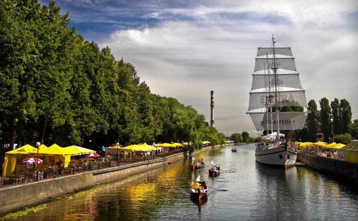 Klapeda Λιθουανία πόλη outsider Ευρώπη