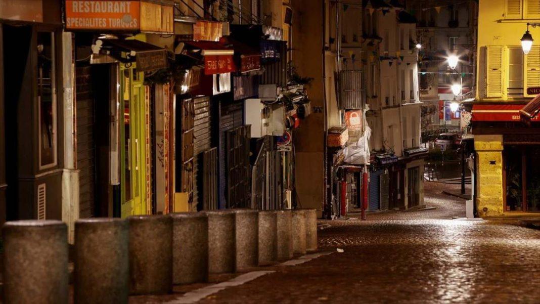 Κορονοϊός Γαλλία απαγόρευση κυκλοφορίας άδειοι δρόμοι