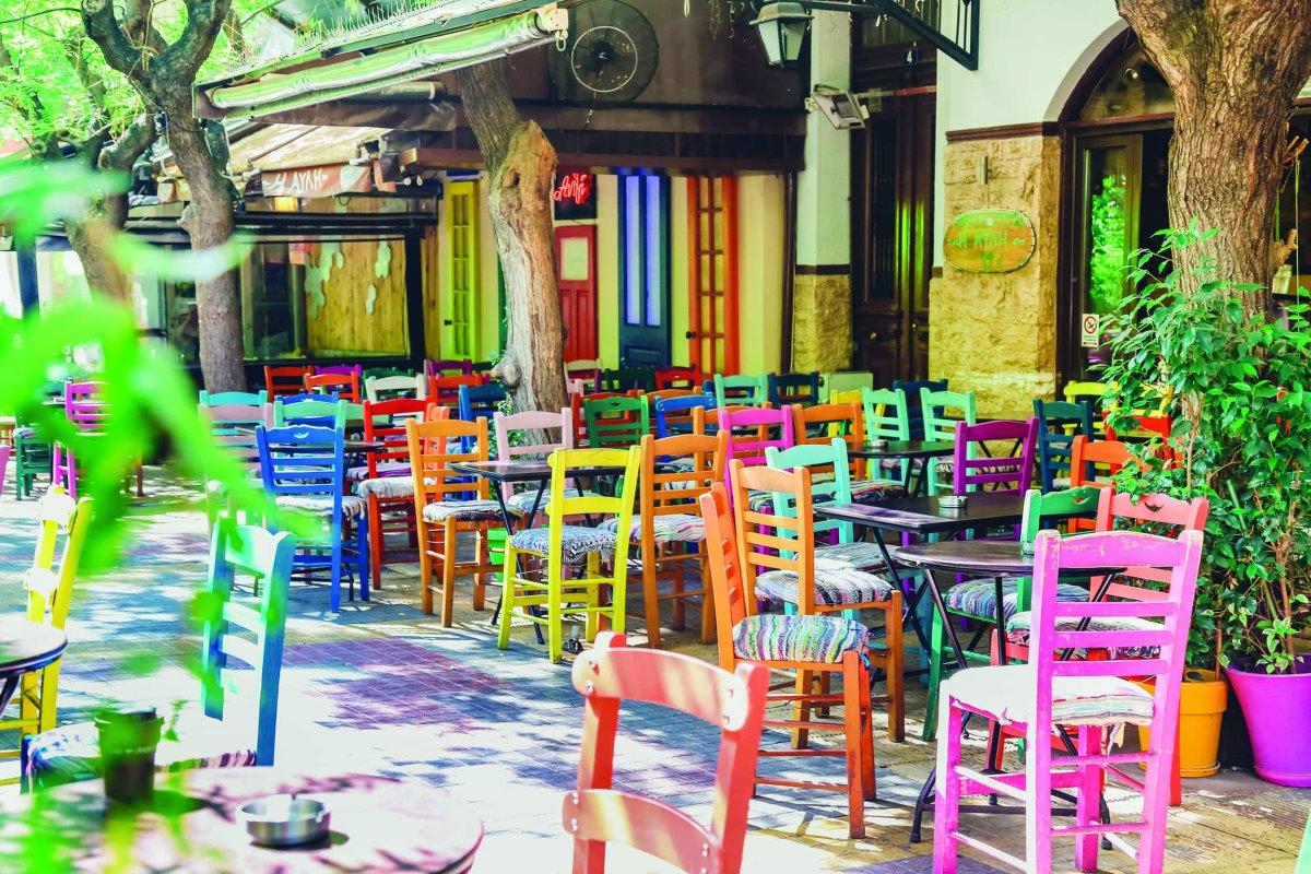 Κουκάκι δημοφιλής περιοχή Αθήνας