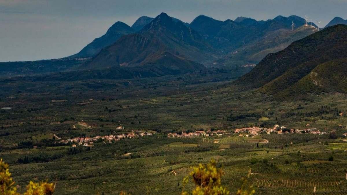 Κρεμμύδια Μεσσηνίας ρεκόρ γκίνες πανοραμική χωριό μοναδικό στην Ελλάδα