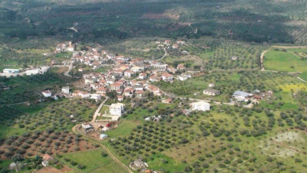 Κρεμμύδια Μεσσηνίας ρεκόρ γκίνες πανοραμική χωριό