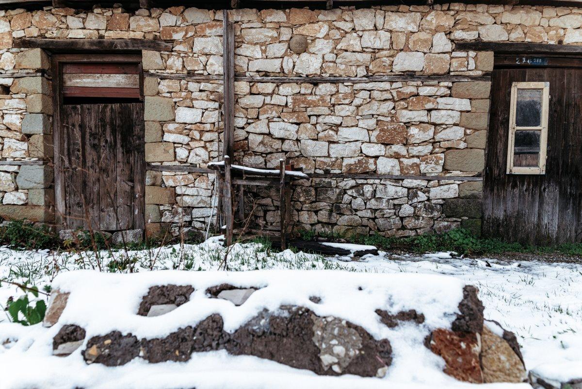 Λίμνη Πλαστήρα, παλιά σπίτια