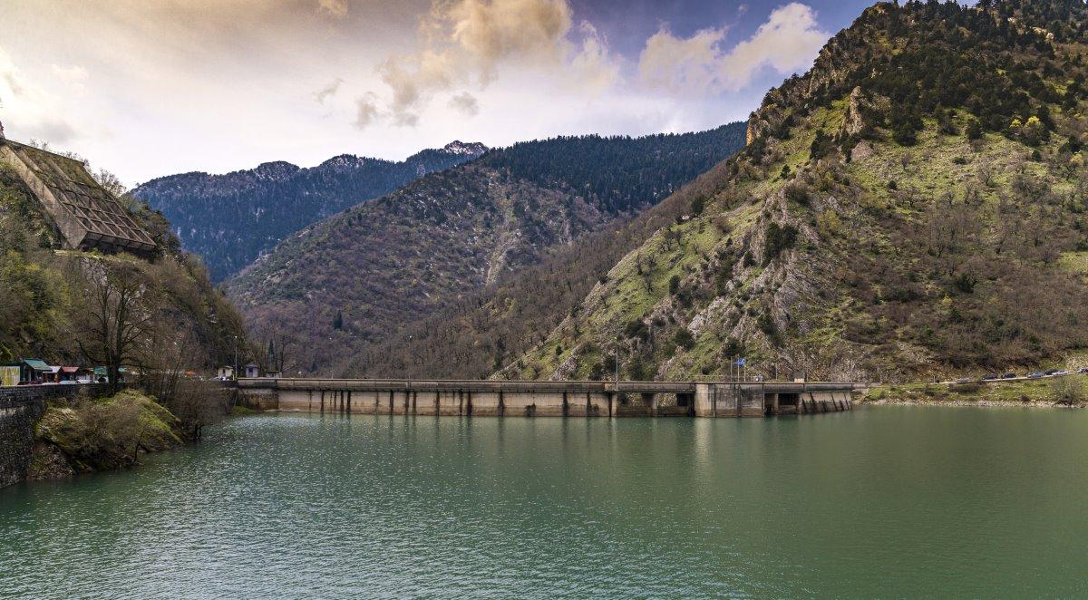 Το φράγμα της Λίμνης Πλαστήρα