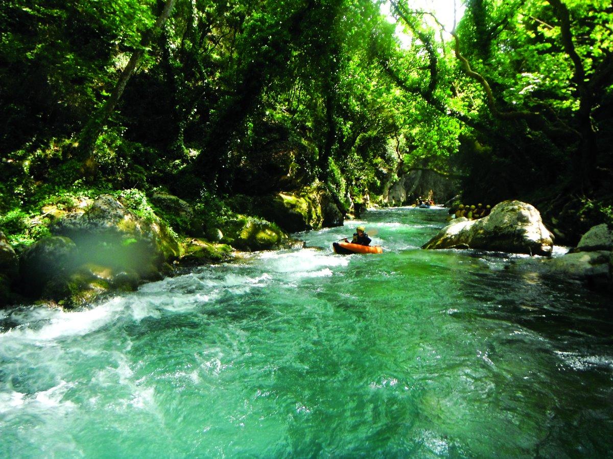 Δραστηριότητες στο Λούσιο ποταμό