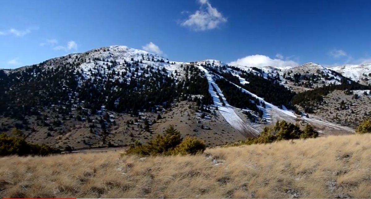 Μαίναλο, γενική άποψη του βουνού