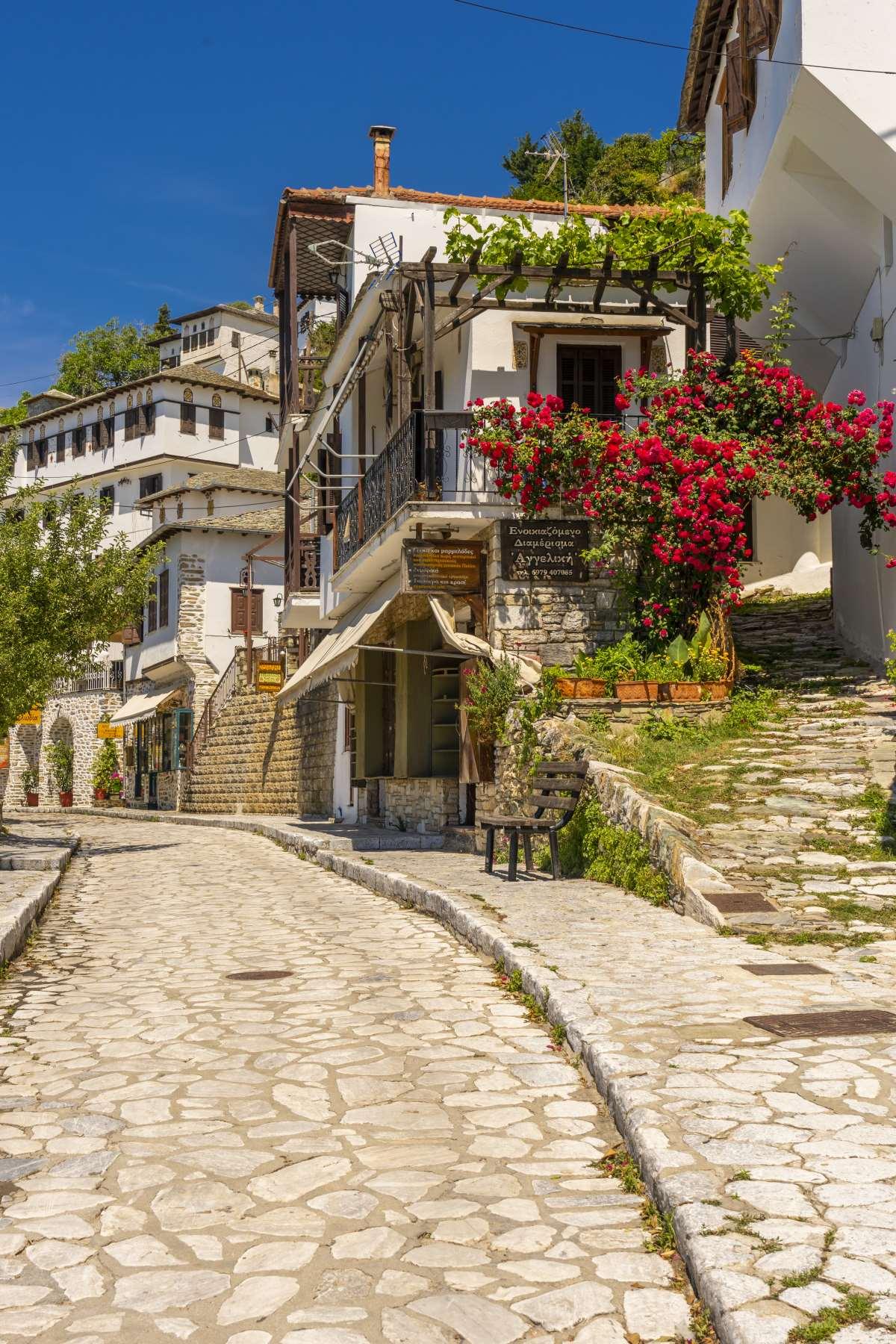 Μακρινίτσα, κάνοντας βόλτα στο χωριό