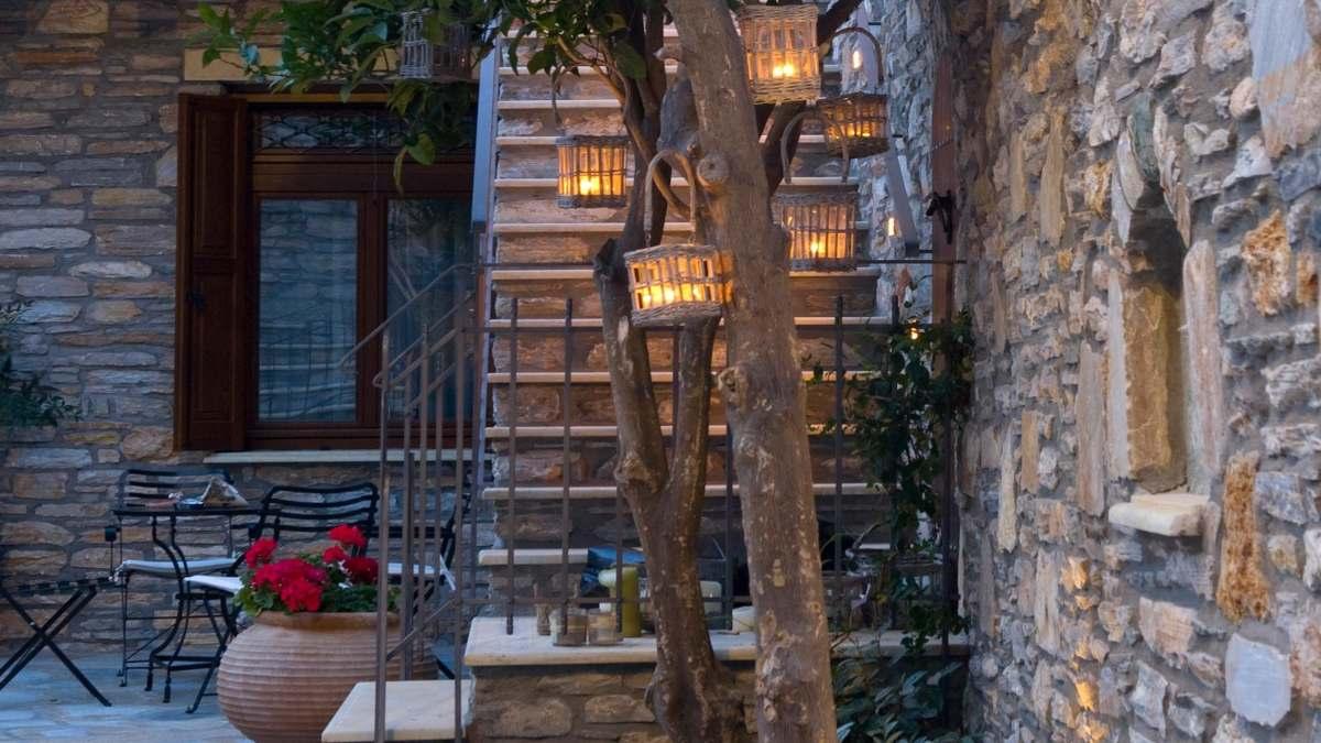 Minelska Resort Πήλιο  είσοδος ξενώνα με 9,6 βαθμολογία