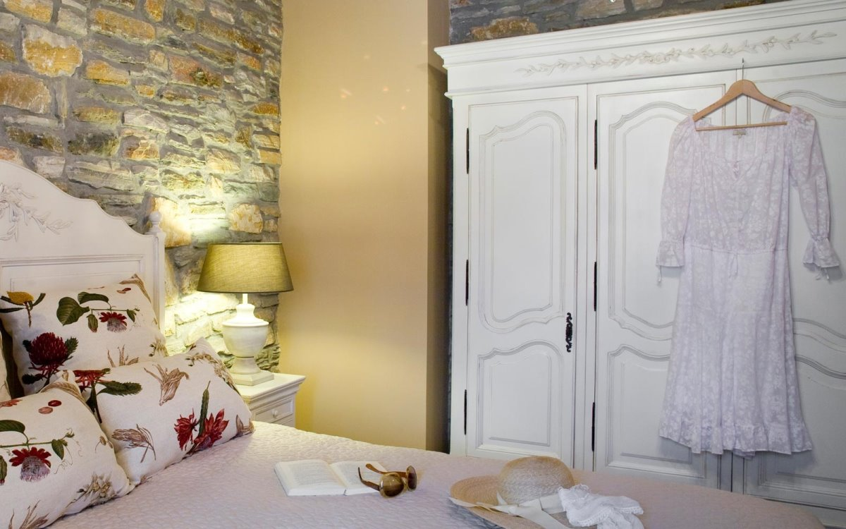 Minelska Resort Πήλιο δωμάτιο δίκλινο με πέτρα