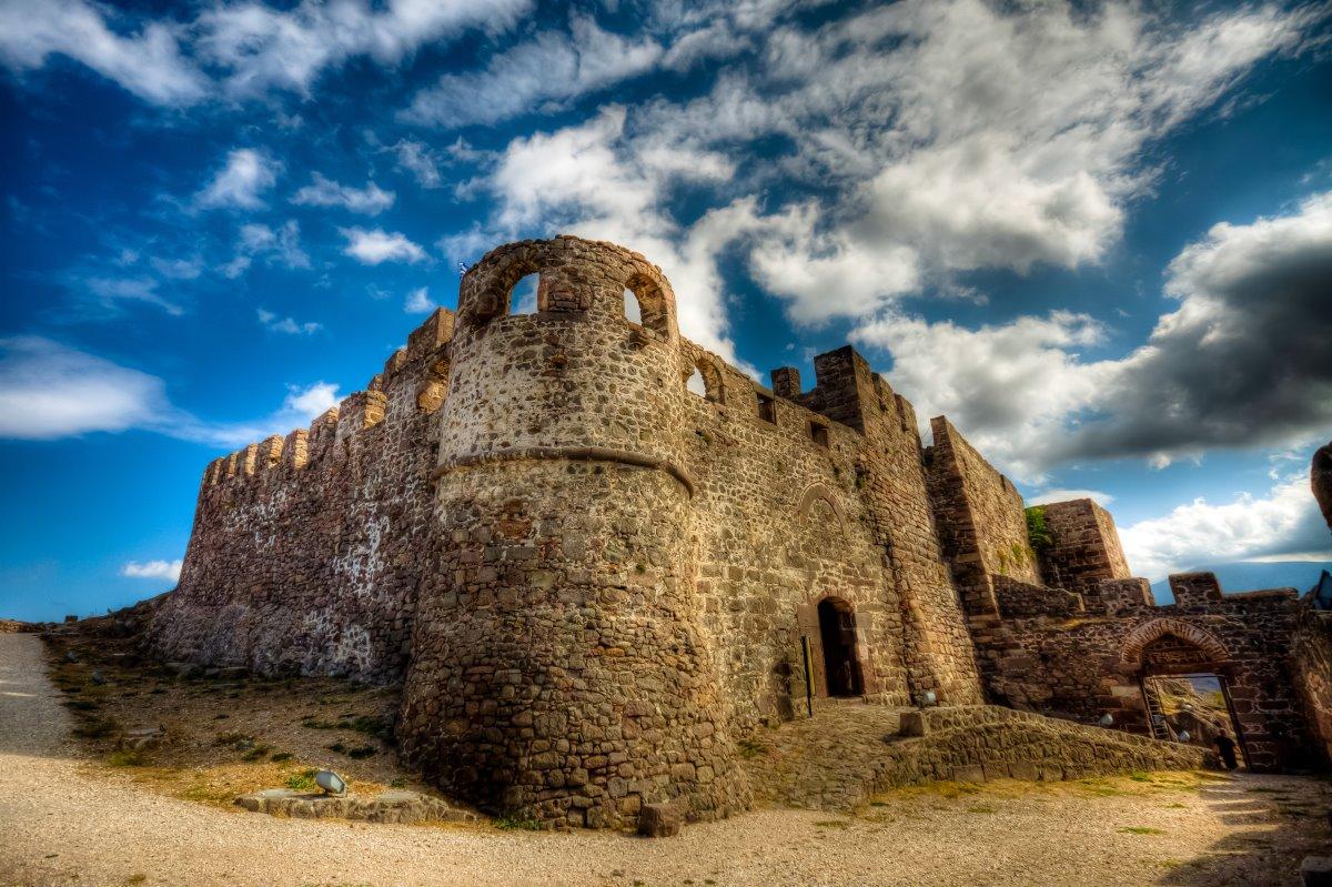 Το κάστρο της Μήθυμνας, Μόλυβος Λέσβος