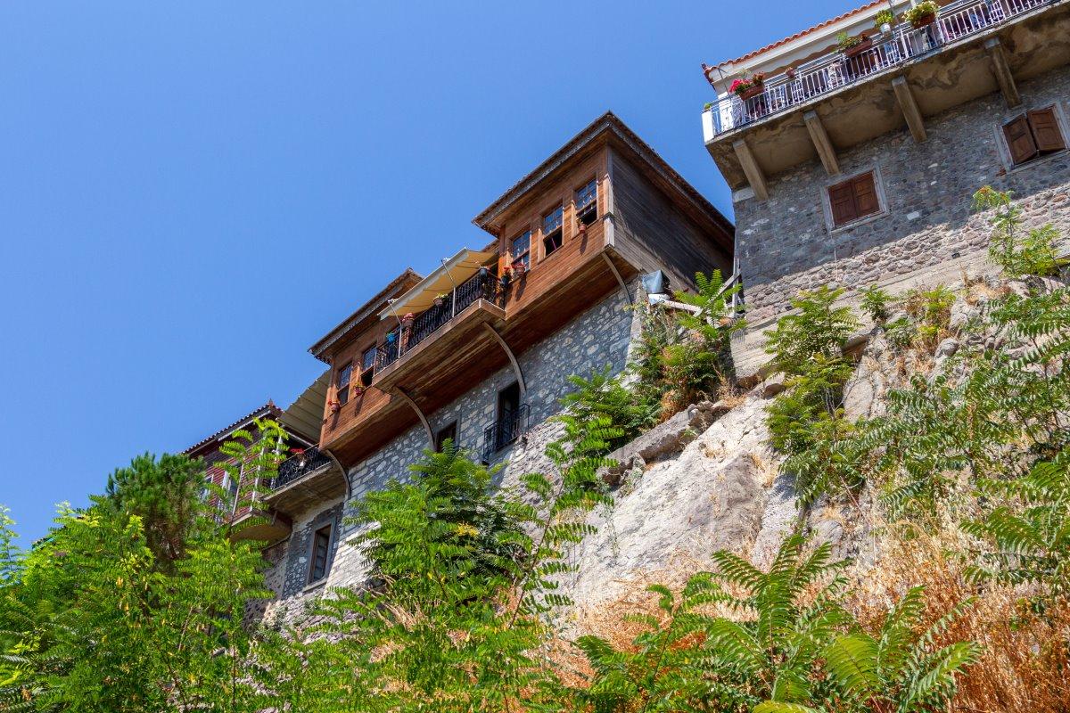 παραδοσιακά πετρόχτιστα σπίτια , Μόλυβος Λέσβος