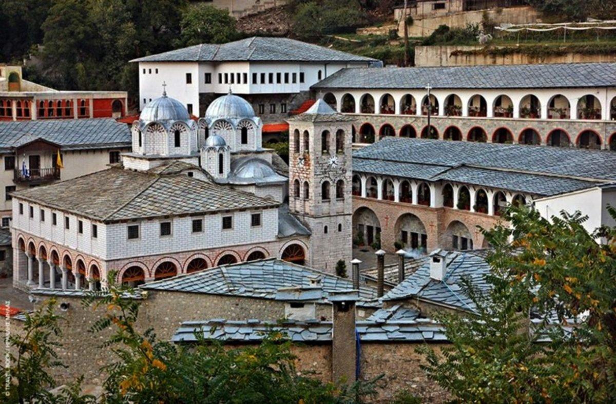 Μοναστήρι παναγία Εικοσιφοινίτισσα παλιαότερο Ευρώπη αδιάλειτη λειτουργία