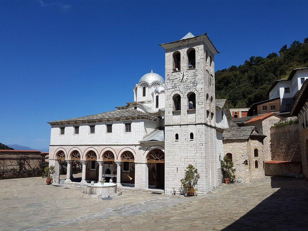 Μοναστήρι παναγία Εικοσιφοινίτισσα παλιαότερο Ευρώπη βρίσκεται στην Ελλάδα