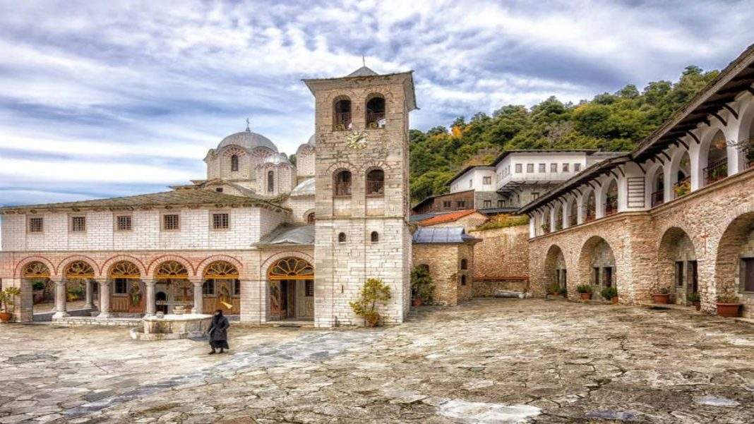 Μοναστήρι παναγία Εικοσιφοινίτισσα παλιαότερο Ευρώπη