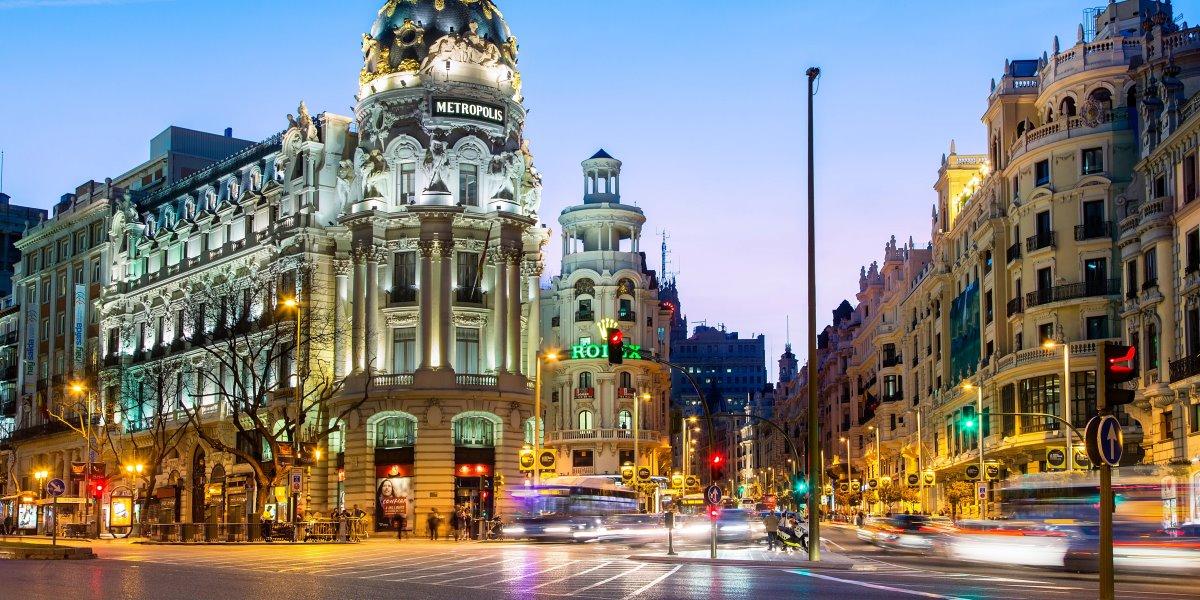 10 καλύτερες πόλεις στον κόσμο 2021 Μαδρίτη