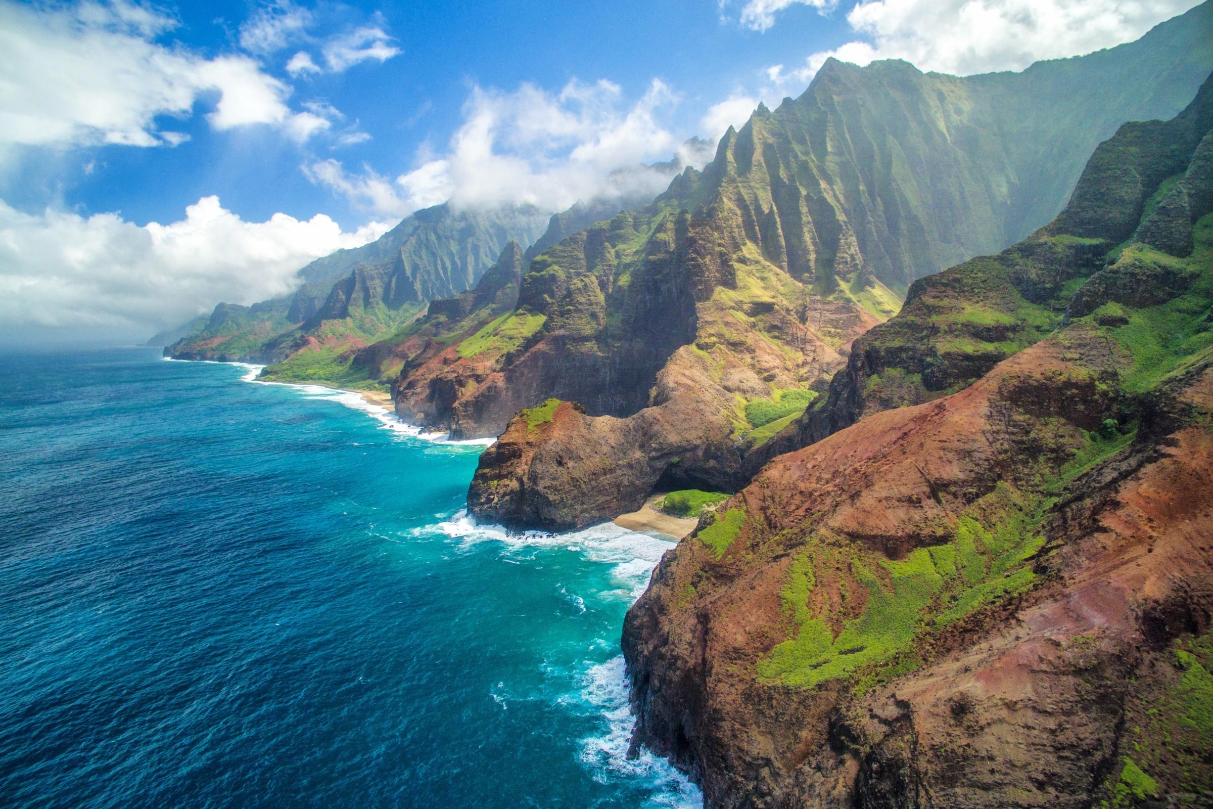 ακτή Na Pali, Kauai, Χαβάη