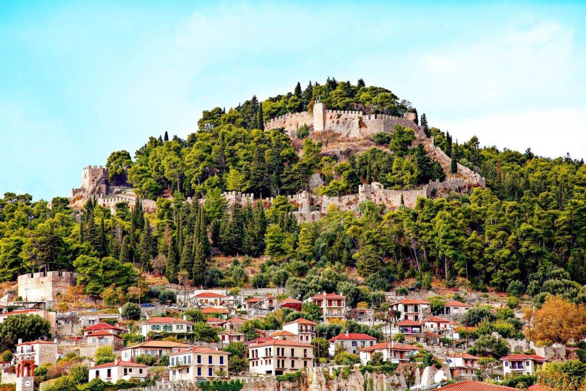 καστροπολιτείες Ελλάδα κάστρο ναύπακτος