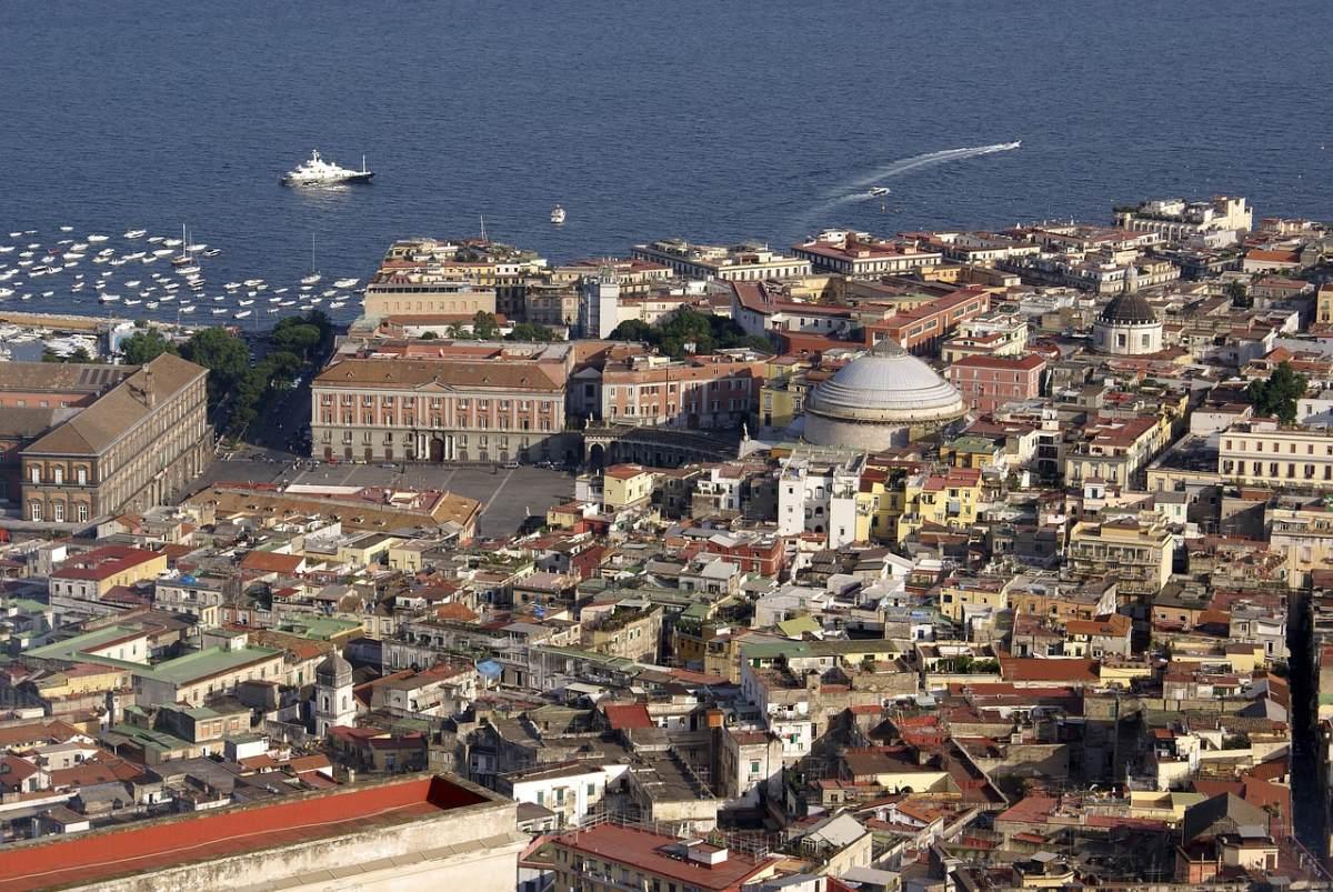 Πανοραμική εικόνα της Νάπολης