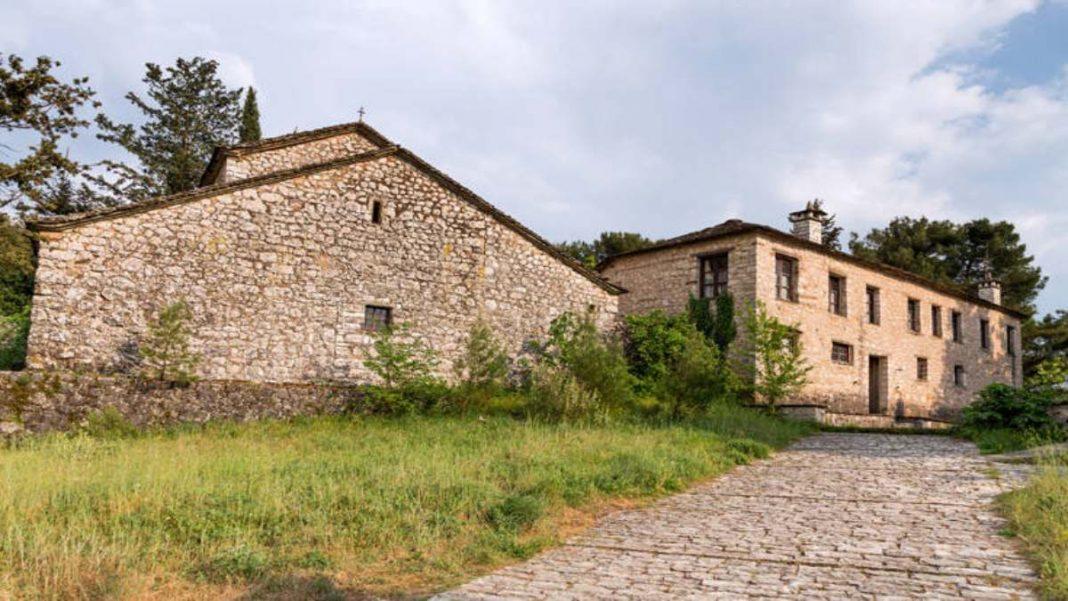 μοναστήρι νησάκι Ιωαννίνων