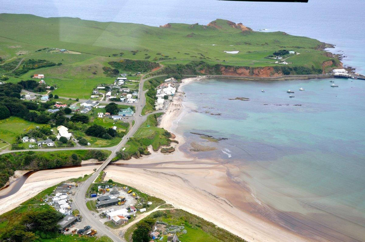 Νησιά Τσατάμ Νέα Ζηλανδία το μεγαλύτερο κατοικείται