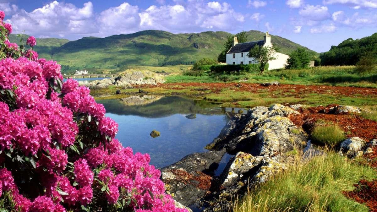 Οικολογική χώρα φύση