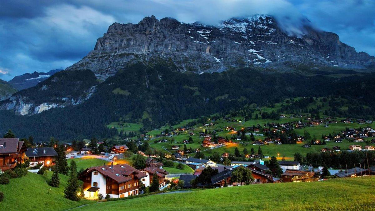 Όμορφα χωριά Ευρώπη Grindewald Ελβετία