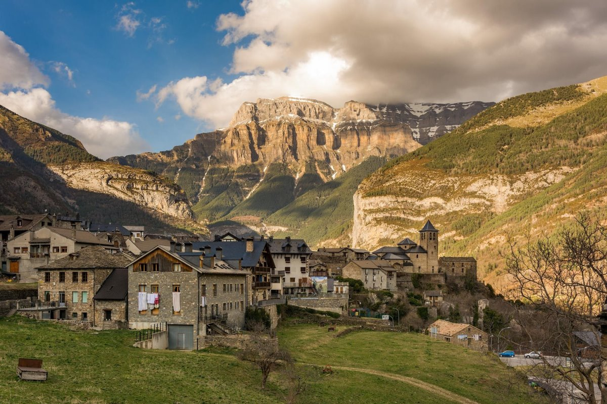 Όμορφα χωριά Ευρώπη Torla Ισπανία