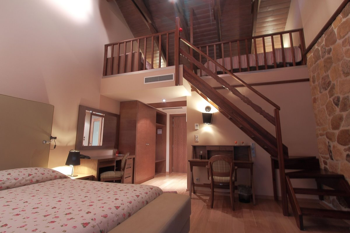 Σαλέ Ορίζοντες Τζουμέρκων με υπέροχα δωμάτια