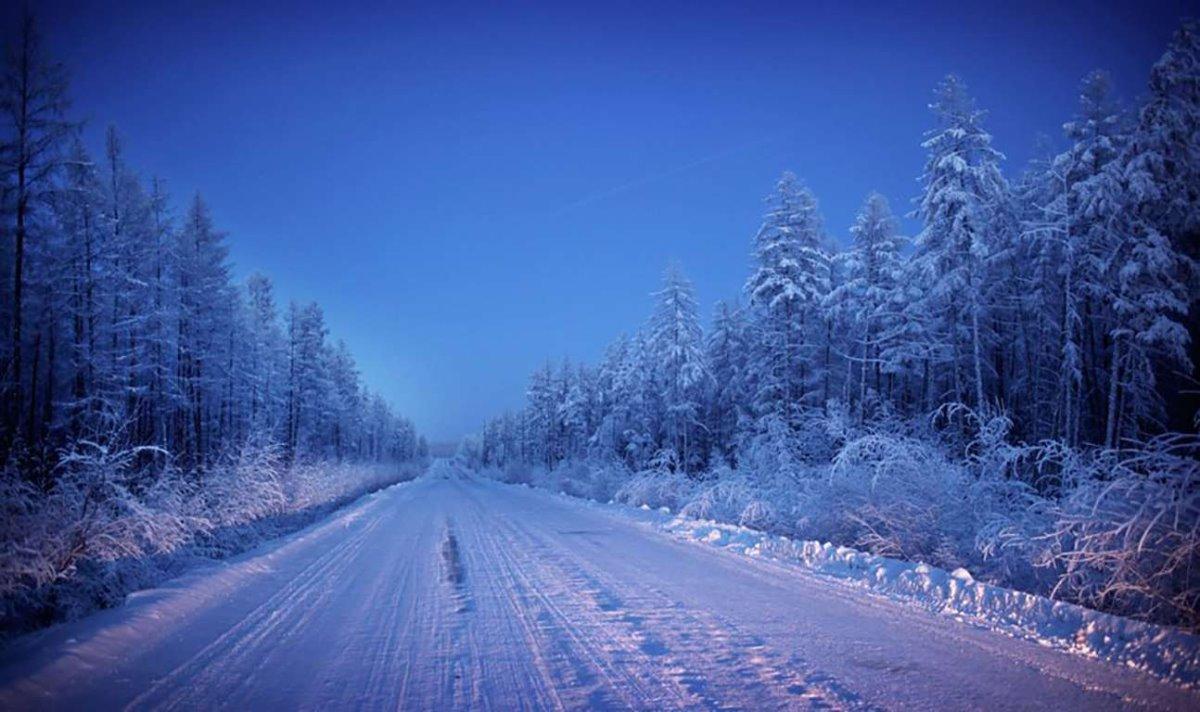 Oymyakon η πιο κρύα πόλη στον κόσμο οι παγωμένοι δρόμοι