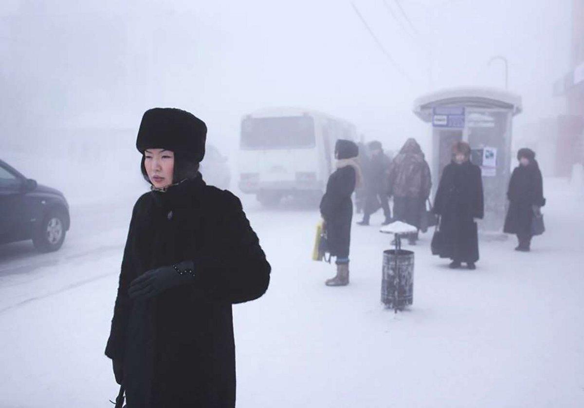 Oymyakon η πιο κρύα πόλη στον κόσμο γυναίκες με γούνες