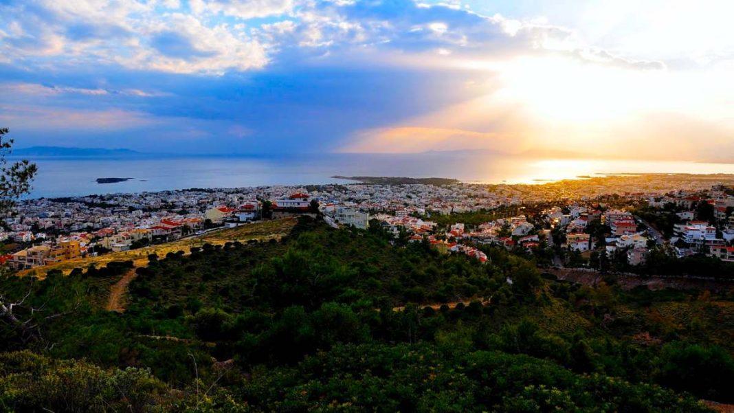 πεζοπορία σε βουνά Αθήνας όπως στον Υμηττό