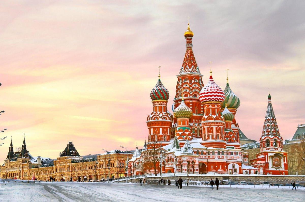 Κόκκινη Πλατεία Μόσχα χιονισμένη