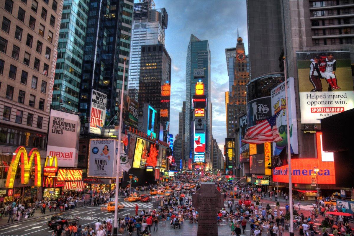 Πλατεία Times Square Νέα Υόρκη από τις πιο διάσημες στον κόσμο