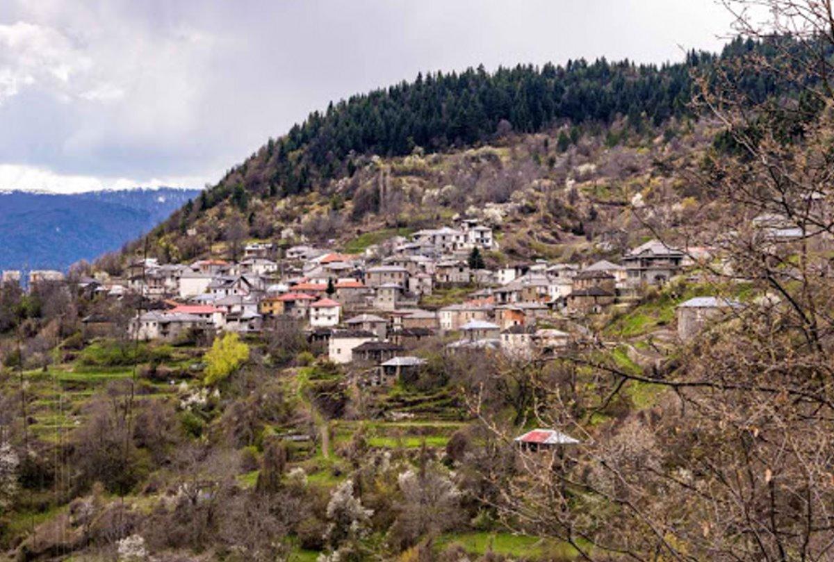 Πληκάτι Ιωαννίνων γραφικό χωριό